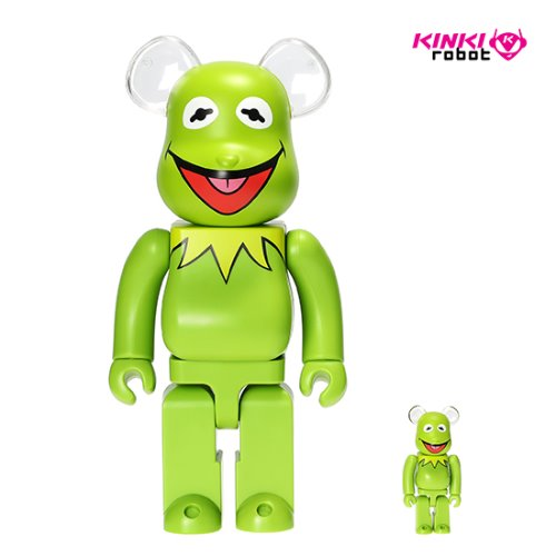 400%+100%BEARBRICK KERMIT THE FROG