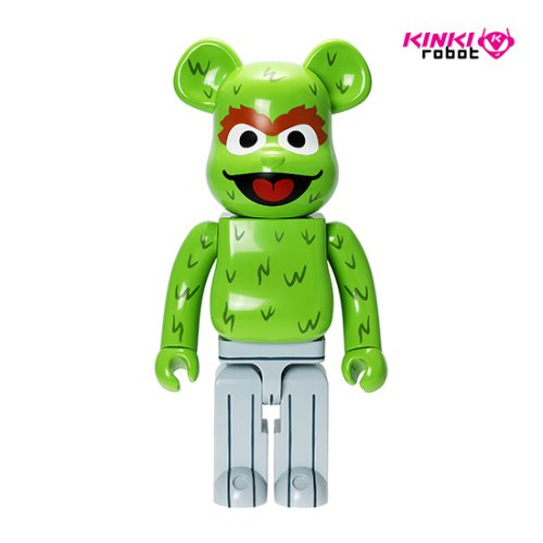 1000%BEARBRICK OSCAR THE GROUCH