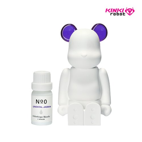 BEARBRICK AROMA ORNAMENT NO.0 COLOR PURPLE