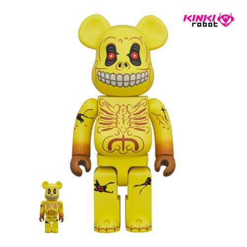 400%+100%BEARBRICK SKULL FACE (프리오더)